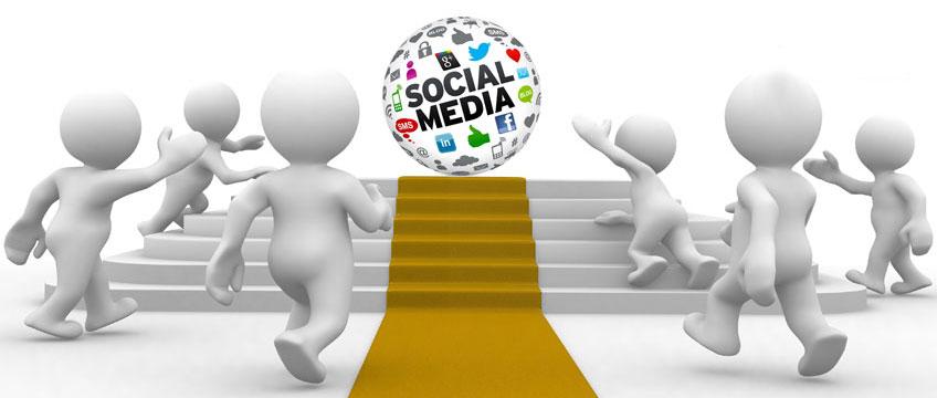 Unternehmensauftritt auf Social Media