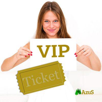 AzuS VIP Ticket